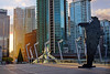 Vancouver City Skyline at Convention Centre by TOTORORO.RORO