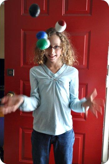 juggle one
