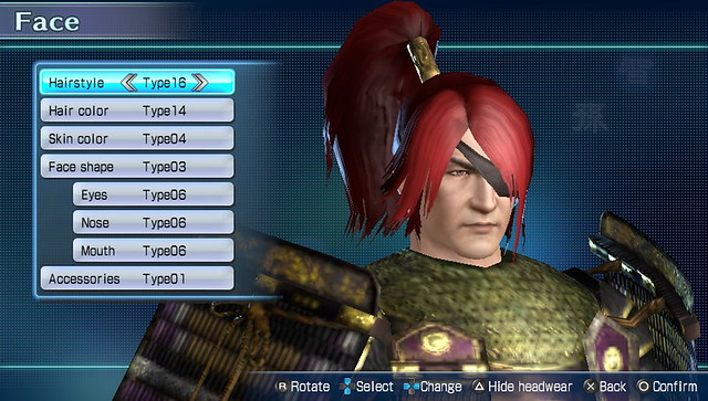 Dynasty Warriors Next Character Customization (2)