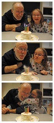 Grandpa's Birthday Cake by Clover_1