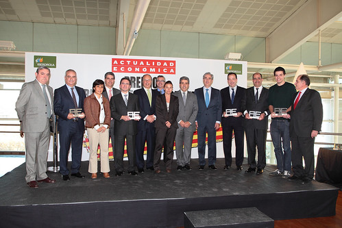 Actualidad Económica awards Catalan business people