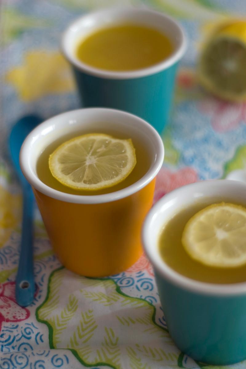 Gelatina de citrinos e gengibre // Ginger Citrus Jelly