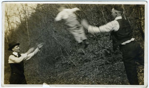 Snapshot: The Young Boy Toss --- Redneck Family Trajedy Annals, Volume VII by mrwaterslide