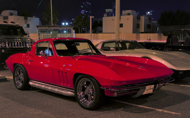 doha classic car club little red corvette flashed flickr photo. Cars Review. Best American Auto & Cars Review