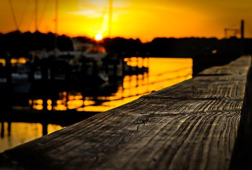 wood sunset orange creek marina boats skull pier dock hiltonhead nikkor50mm nikond90