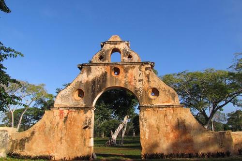 Hacienda Ruins, Yucatan Mexico  2088pr2