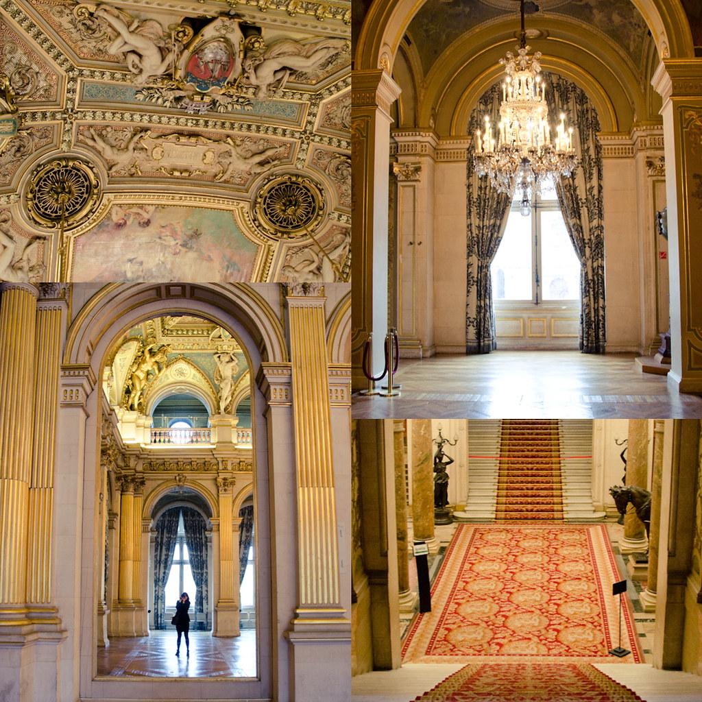 Hotel de ville paris interieur images for Hotel interieur