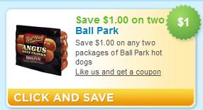 Ball Park Hot Dogs Coupon