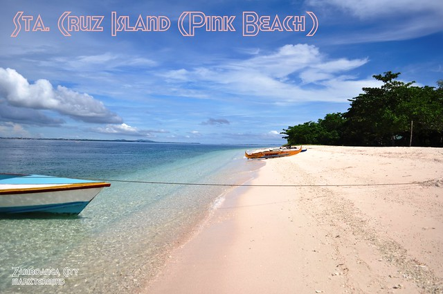 Pink Beach in Sunshine
