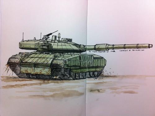 Black eagle tank