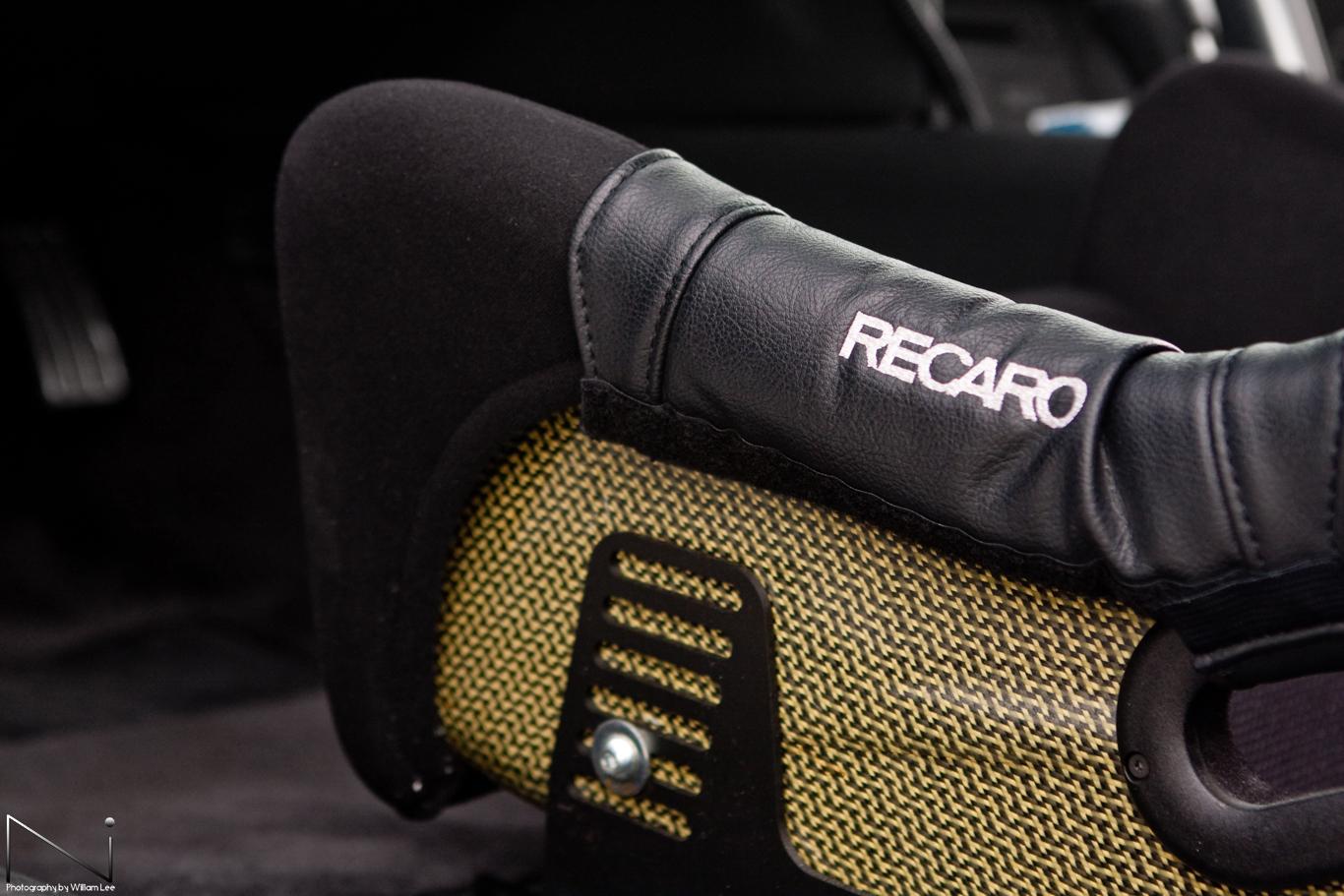 Recaro Profi Carbon-Kevlar SPA seats pad