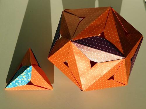 Icosahedron and Tetrahedron