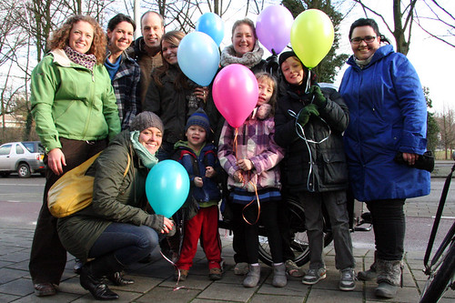 GCM-NL Staff Day - Group Portrait, with Balloons