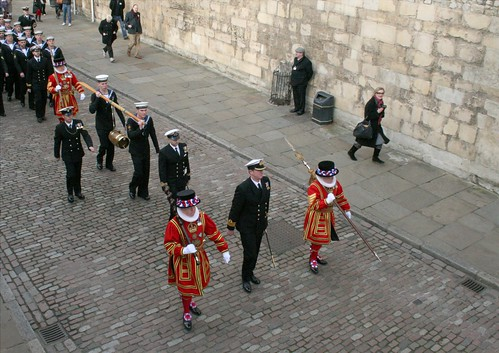 The Constable's Dues being delivered