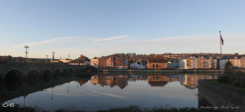 Wadebridge (Cornwall) - River Camel (panoramic) by Stocker Images