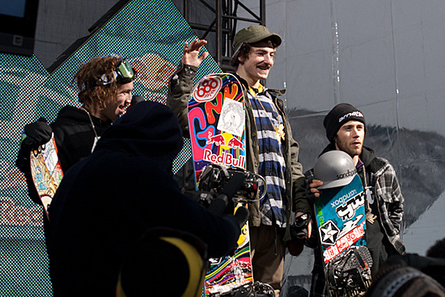 MWM X GNU : Forest Bailey X-Games Gold.