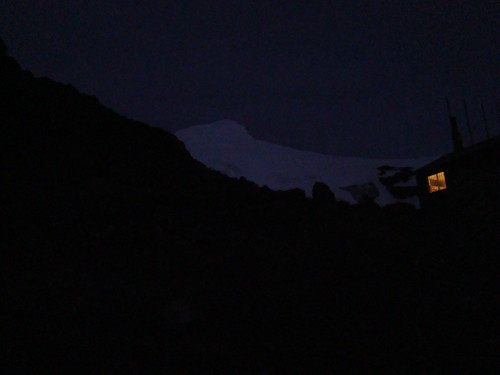 Refugio Oleas Ruales a 4.600m de altura