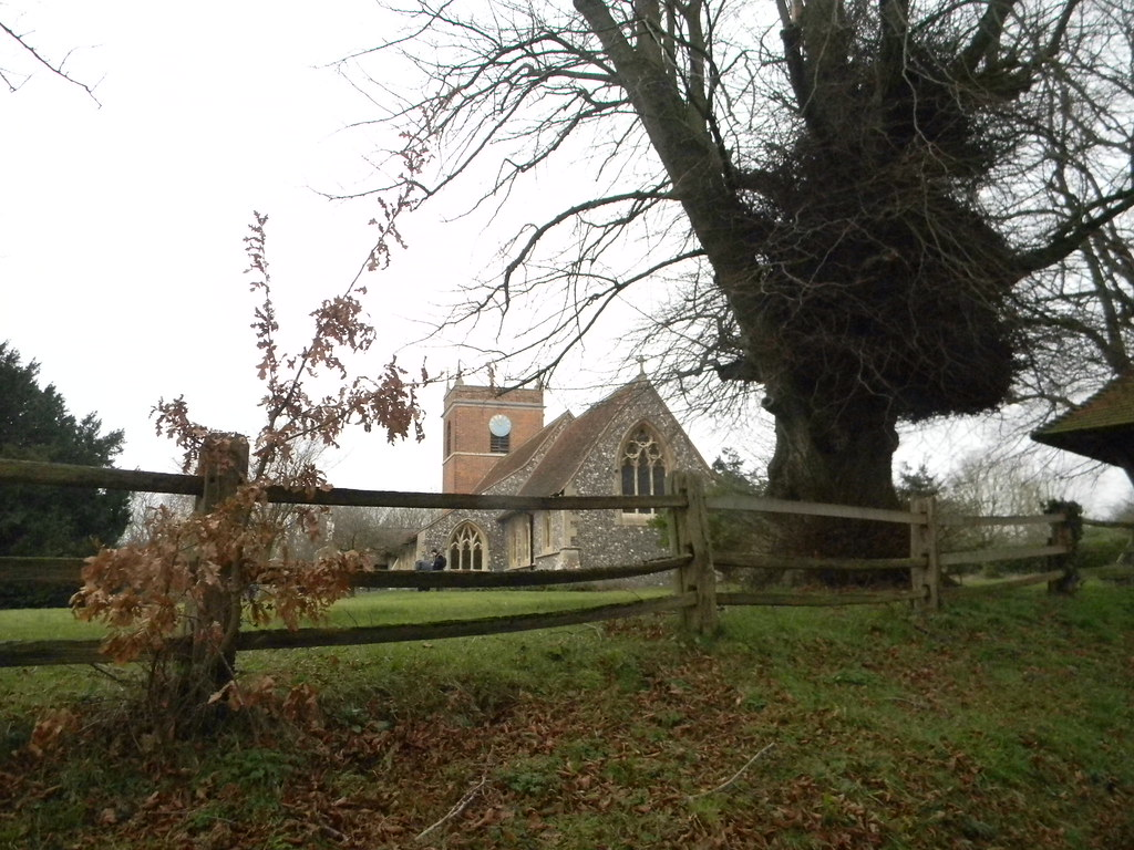 Beenham Church Aldermaston to Woolhampton