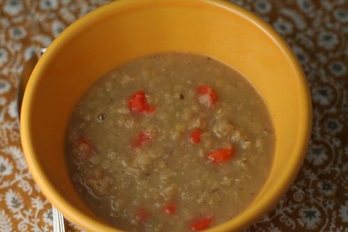 carrot lentil soup