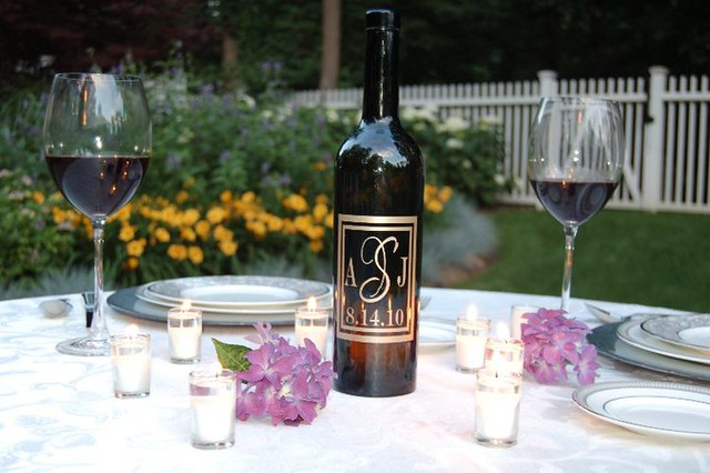 personalized wedding table centerpieces Word Couture offers a unique home
