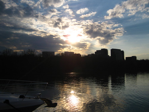 Rosslyn across the Potomac