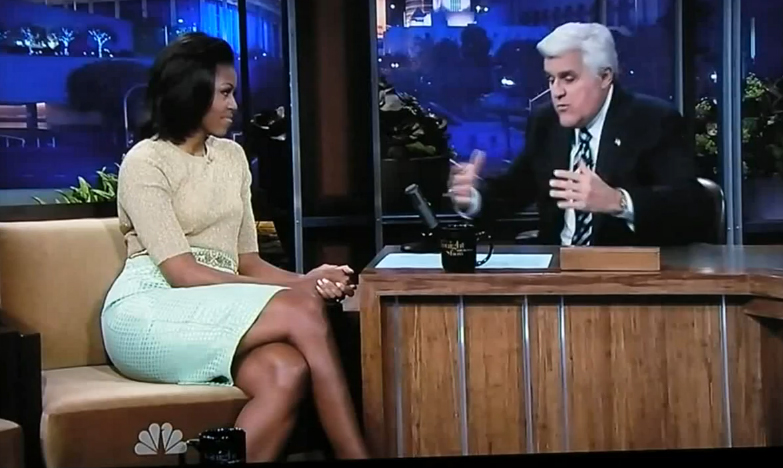 Michelle-Obama-and-Jay-Leno