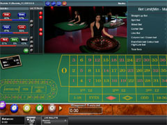 Multi-Player Live Roulette
