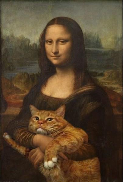 Mona Lisa Lolcat