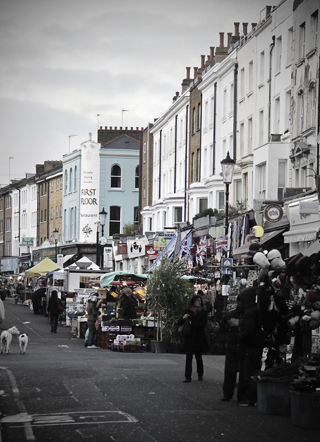 Portobello Road on Friday afternoon