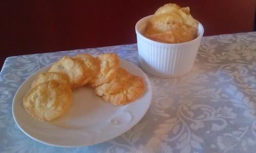 almond butter crisps