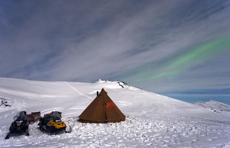 Arctic Bell Tenting
