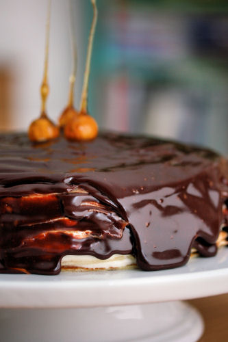 Nutella Crepe Cake 3773 R