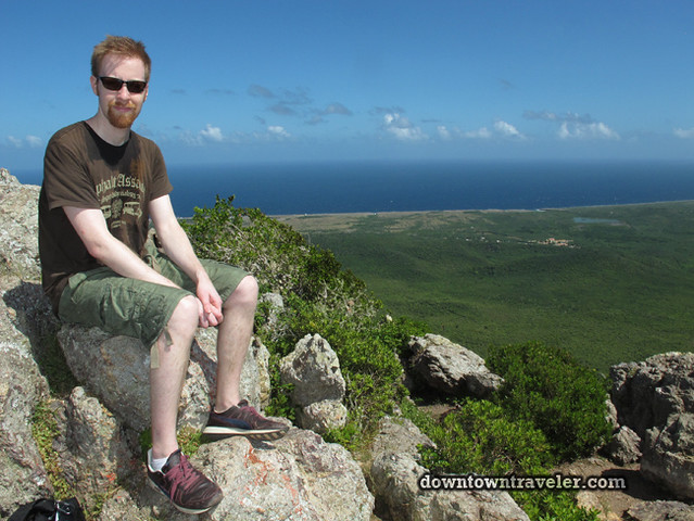 Curacao Mt Christofell summit