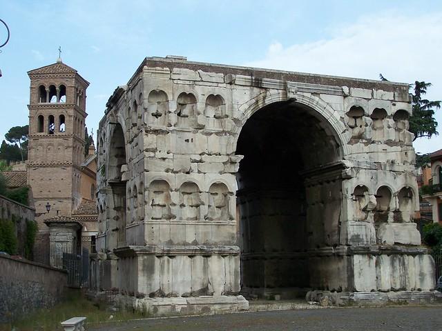 Arco de jano con san giorgio al velabro roma flickr for Arco arredamenti san giorgio