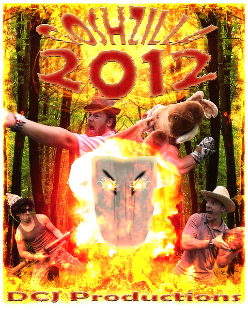 Goshzilla 2012 Poster