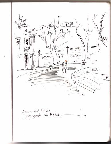 el Prado Madrid. La puerta de los Jerónimos