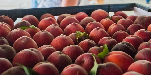 peaches color quality