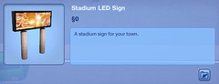 Stadium LED Sign