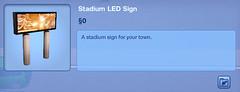 Stadium LED Sign