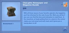 City Lights Newspaper and Magazine Bundle