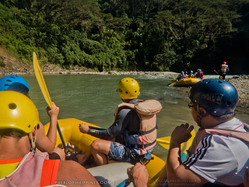 White Water River Rafting - Tabuk - Kalinga, Philippines (102349 - 120123)