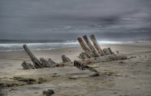 Namibia - Skeleton Coast National Park HDR