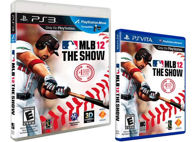 MLB 12 The Show Box Art (PS3 & Vita)