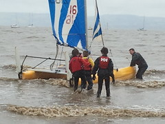 Sailing on River Dee 2011
