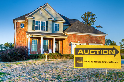 Foreclosed Home up for Auction