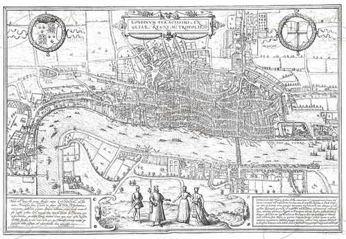 Southwark Council puts historical OS maps online. Dates back to 1572