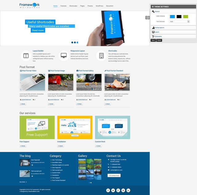 Framework WordPress Theme