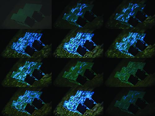 Field Bricks Projection [Stills]