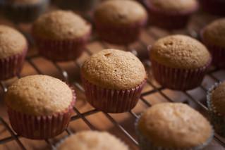 PB & J mini-cupcakes