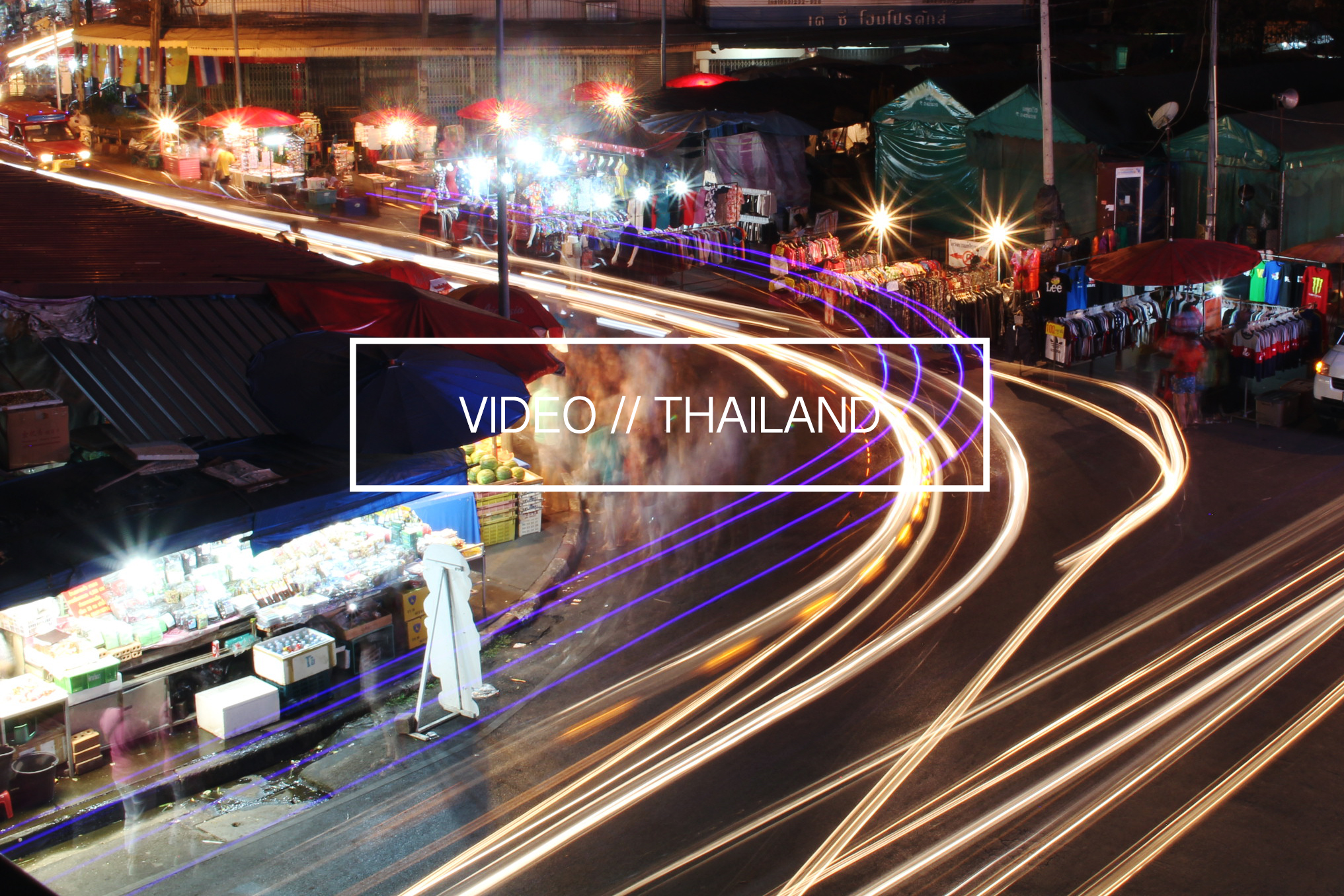 Night Photography Chiang Mai